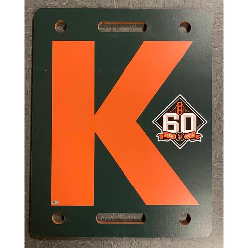Photo of 2020 Black Friday Sale - 2018 60th Anniversary Orange K Board