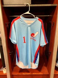 Photo of Jacksonville Expos Fauxback Jersey #1 Size 42