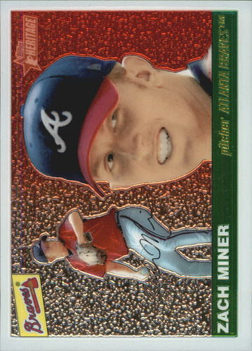 Photo of 2004 Topps Heritage Chrome #THC62 Zach Miner