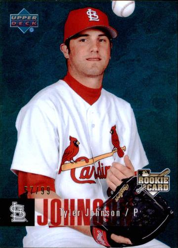 Photo of 2006 Upper Deck Special F/X Green #433 Tyler Johnson /99