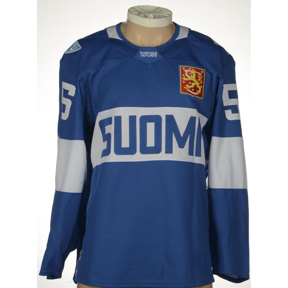 ... jersey Erik Haula Minnesota Wild Game-Worn World Cup of Hockey 2016 Mens  ... 2ad0e106c