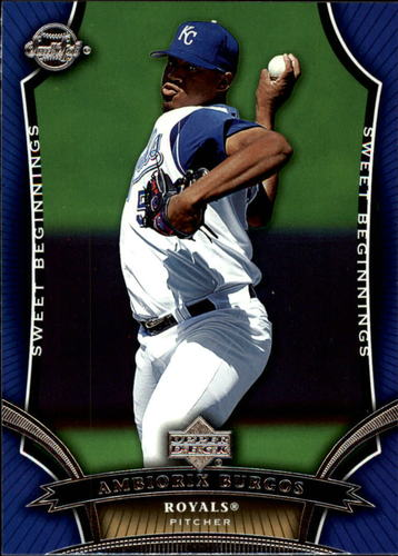 Photo of 2005 Sweet Spot #92 Ambiorix Burgos SB RC