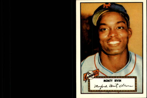 Photo of 1983 Topps 1952 Reprint #26 Monte Irvin