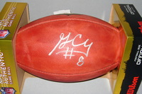 NFL - RAIDERS GAREON CONLEY SIGNED AUTHENTIC FOOTBALL