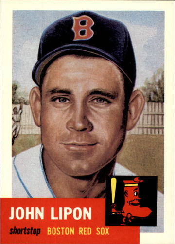 Photo of 1991 Topps Archives 1953 #40 John Lipon
