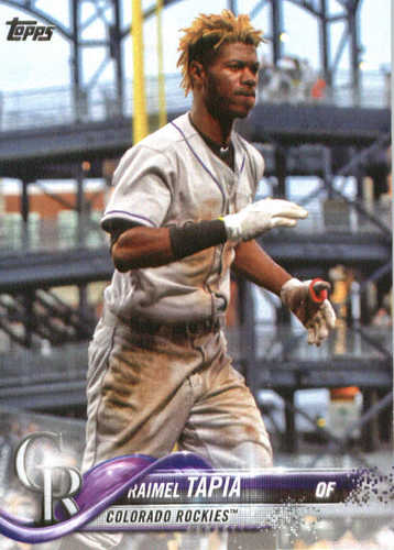 Photo of 2018 Topps #313 Raimel Tapia