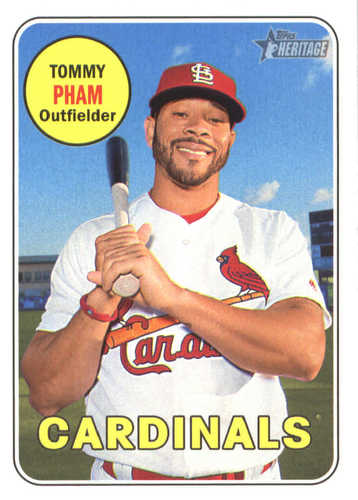 Photo of 2018 Topps Heritage #26 Tommy Pham