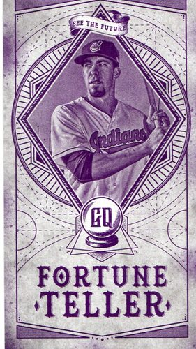 Photo of 2018 Topps Gypsy Queen Fortune Teller Mini #FTM14 Bradley Zimmer