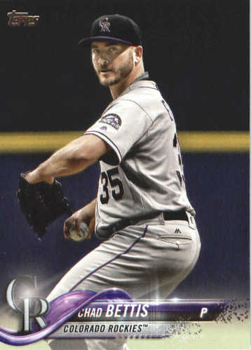 Photo of 2018 Topps #678 Chad Bettis