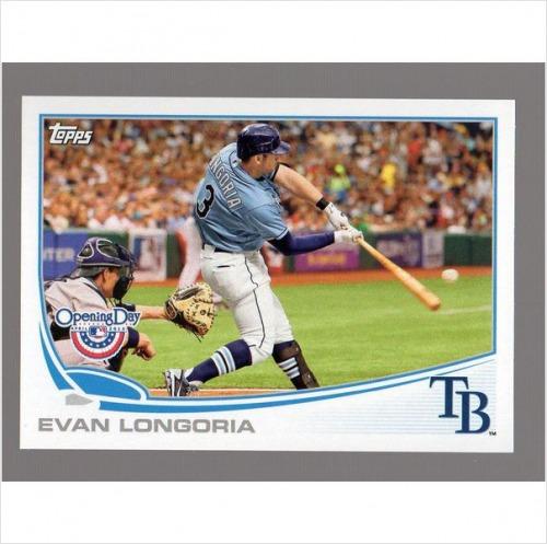 Photo of 2013 Topps Opening Day #200 Evan Longoria