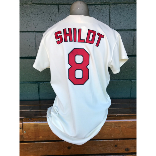 Photo of Cardinals Authentics: Game Worn Mike Shildt Turn Back the Clock Jersey