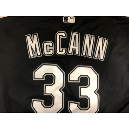 Photo of James McCann Team-Issued 2019 Spring Training Jersey (not authenticated)