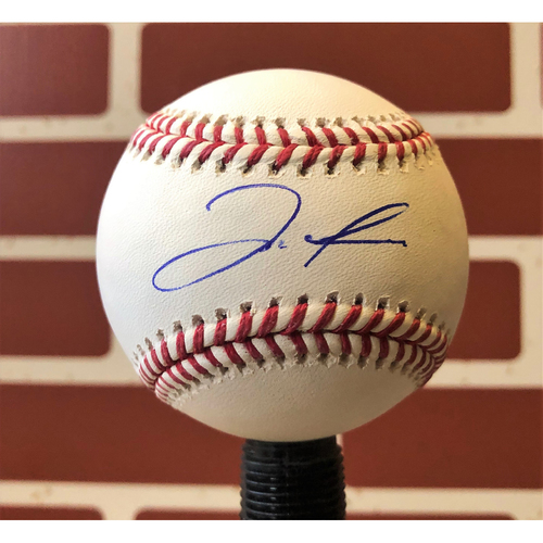 Photo of Jose Trevino Autographed Final Season Logo Baseball