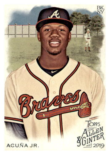 Photo of 2019 Topps Allen and Ginter #25 Ronald Acuna Jr.