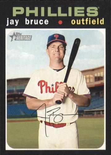 Photo of 2020 Topps Heritage #79 Jay Bruce