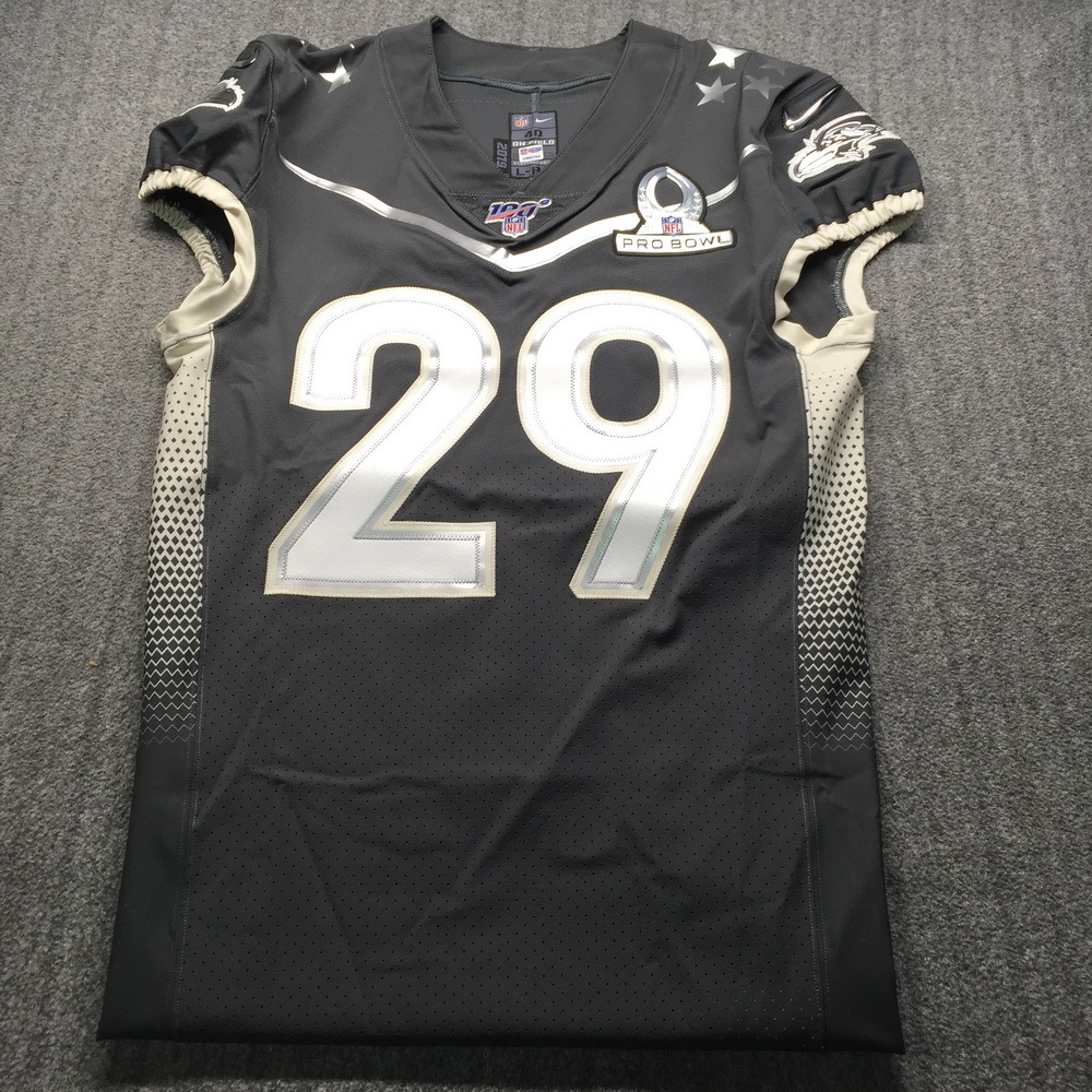 NFL - Ravens Earl Thomas Game Issued Pro Bowl 2020 Jersey Size 40