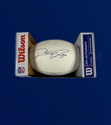 Rams WR Robert Woods Signed Panel Ball