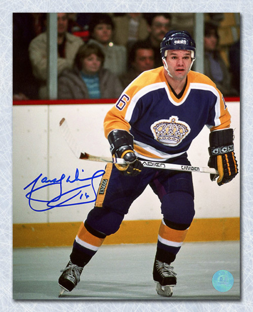 Marcel Dionne Los Angeles Kings Autographed Game Action 8x10 Photo