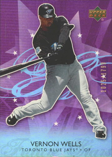 Photo of 2006 Upper Deck Future Stars Purple #72 Vernon Wells
