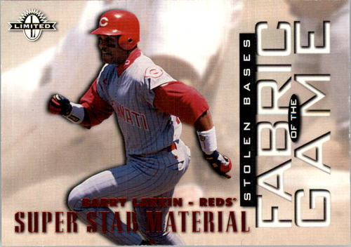 Photo of 1997 Donruss Limited Fabric of the Game #41 Barry Larkin SS