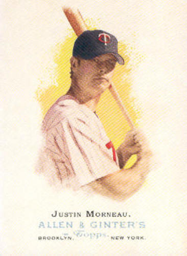 Photo of 2006 Topps Allen and Ginter #60 Justin Morneau
