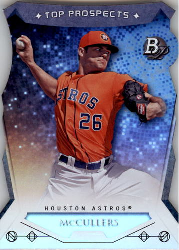 Photo of 2014 Bowman Platinum Top Prospects Die Cuts Lance McCullers