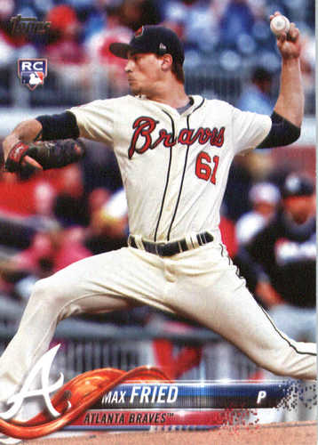 Photo of 2018 Topps #316 Max Fried RC