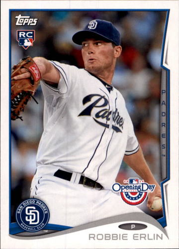 Photo of 2014 Topps Opening Day #217 Robbie Erlin RC