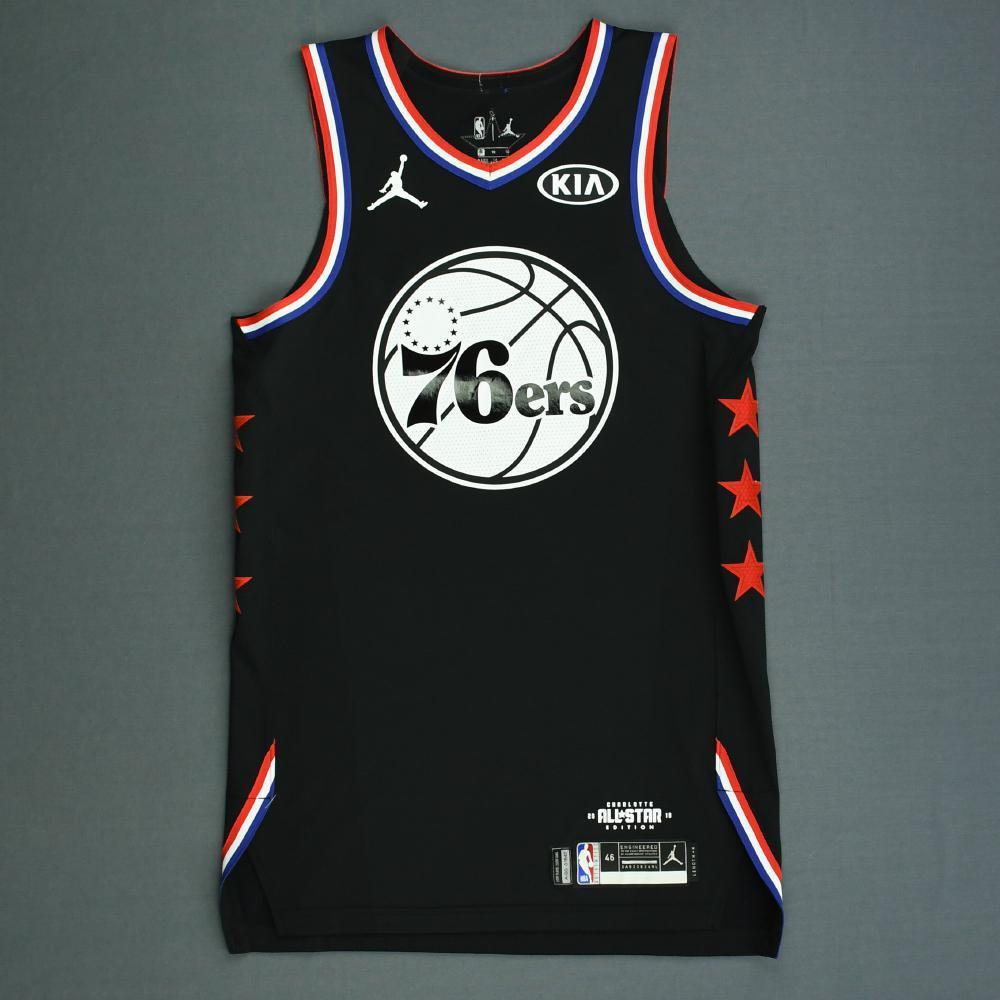 369460ba7 Ben Simmons - 2019 NBA All-Star Game - Team LeBron - Autographed Jersey