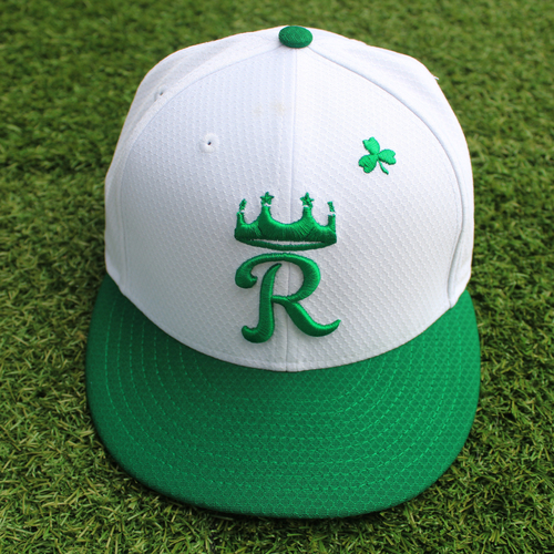 Photo of Team-Issued St. Patrick's Day Cap: Ryan O'Hearn (Size 7 1/4)