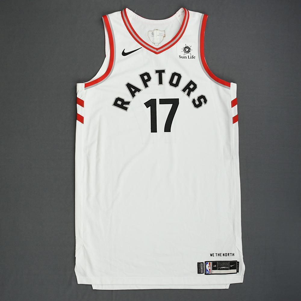 wholesale dealer 4c990 0f4a3 Jeremy Lin - Toronto Raptors - 2019 NBA Finals - Game 1 ...