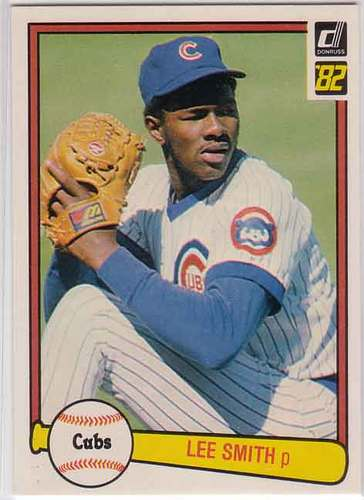 Photo of 1982 Donruss #252 Lee Smith RC