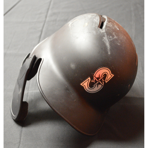 "Photo of Jake ""FRALEY"" Fraley Seattle Mariners Game-Used 2019 Players' Weekend Helmet"