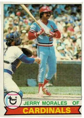 Photo of 1979 Topps #452 Jerry Morales