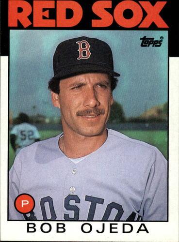 Photo of 1986 Topps #11 Bob Ojeda