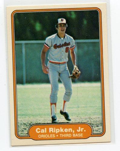 Photo of 1982 Fleer #176 Cal Ripken RC