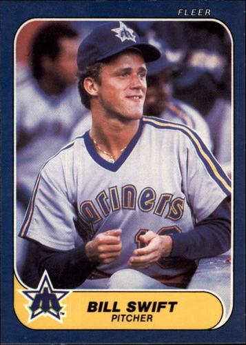 Photo of 1986 Fleer #475 Bill Swift