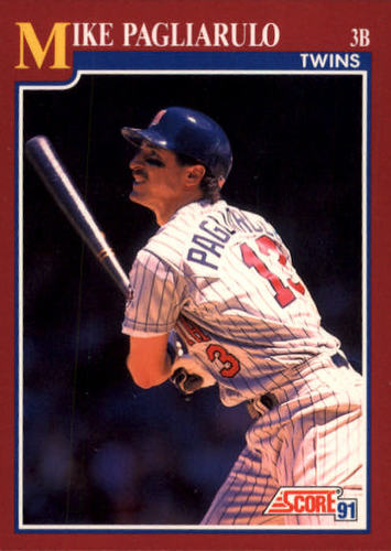 Photo of 1991 Score Rookie/Traded #42T Mike Pagliarulo