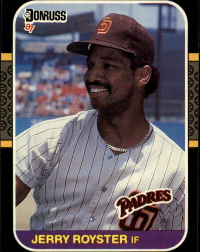 Photo of 1987 Donruss #534 Jerry Royster