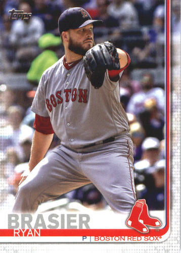 Photo of 2019 Topps #693 Ryan Brasier RC