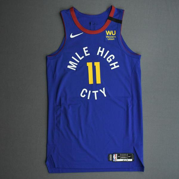 Image of Monte Morris - Denver Nuggets - Game-Worn Statement Edition Jersey - 2019-20 NBA Season Restart with Social Justice Message