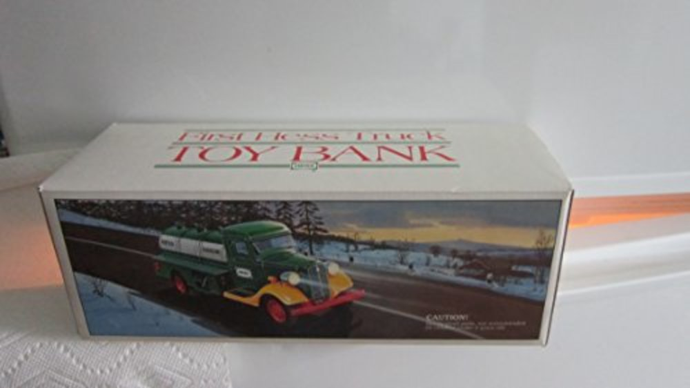 Photo of Vintage 1985 First Hess Truck Toy Bank