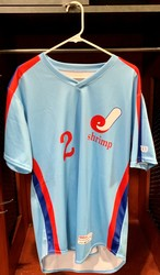Photo of Jacksonville Expos Fauxback Jersey #2 Size 44