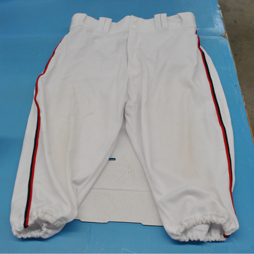 Photo of Game-Used Pants - 2018 All-Star Workout Day and Home-Run Derby - Inscribed with Rodriguez 57, Worn by Mike Trout