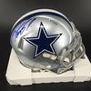 NFL - Troy Pollard Cowboys Signed Mini Helmet