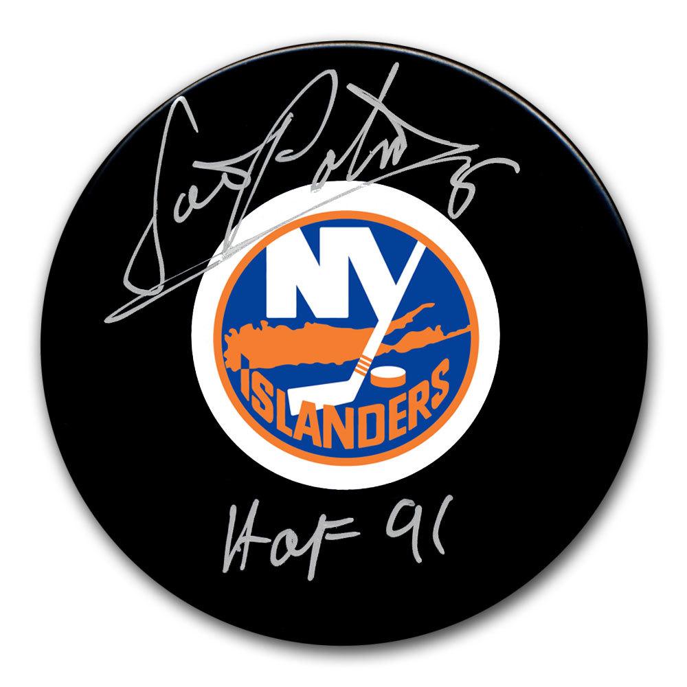Denis Potvin New York Islanders HOF Autographed Puck