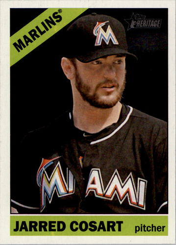 Photo of 2015 Topps Heritage #168 Jarred Cosart