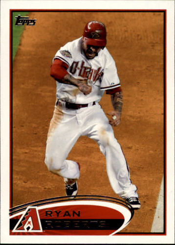 Photo of 2012 Topps #173A Ryan Roberts