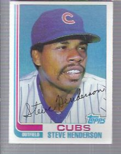 Photo of 1982 Topps #89 Steve Henderson