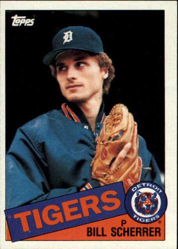 Photo of 1985 Topps #586 Bill Scherrer